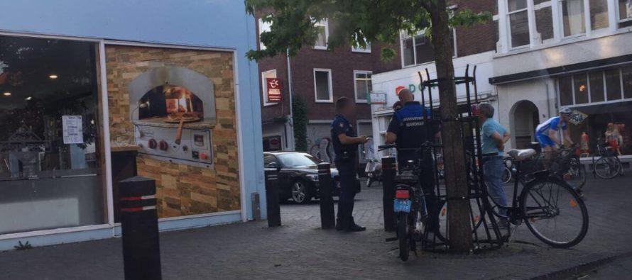 'Alleen buitenlandse bestuurders kregen een bekeuring bij de Steenstraat'