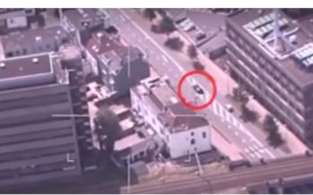 Politie geeft beelden vrij van heftige achtervolging in Arnhem