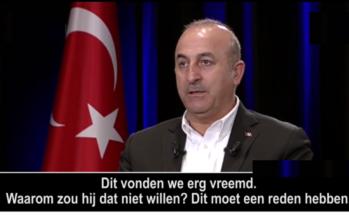BEELDEN Vies spelletje van Rutte: Turkse minister komt met bewijs