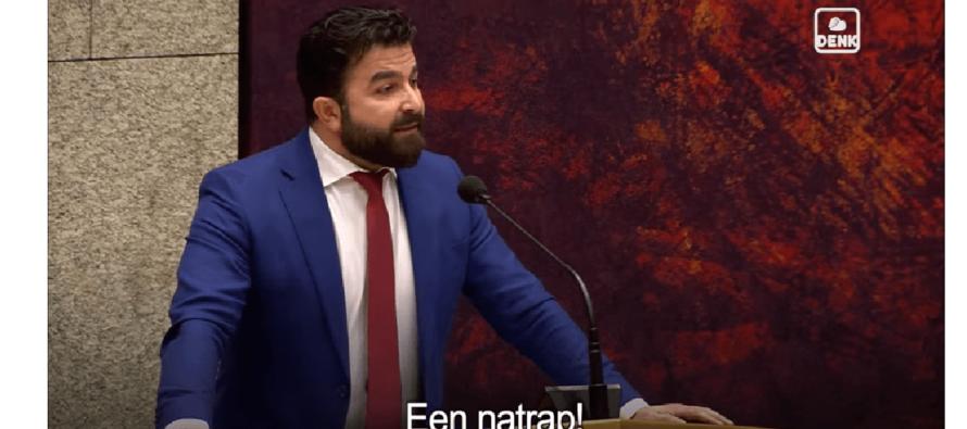 DENK-voorzitter Öztürk: Gastarbeiders krijgen stank voor dank en een schop na