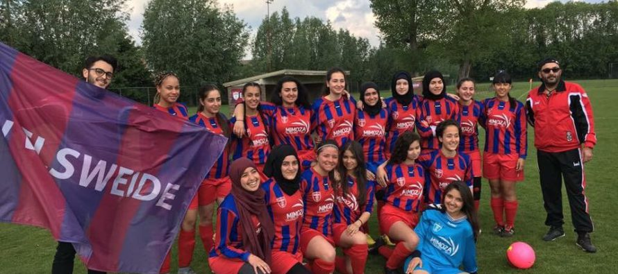 Unieke prestatie: Dames Elsweide na drie seizoenen kampioen van Arnhem