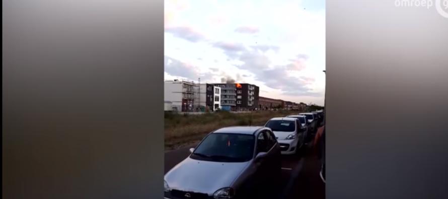 'Explosie in flatwoning Schuytgraaf veroorzaakt door megadrugslab'