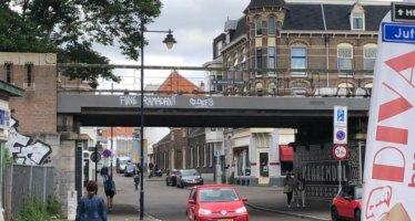 PVV Arnhem stelt vragen over illegale Islamitische Ramadan graffiti
