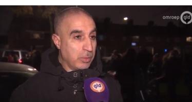 Drama Arnhem-Zuid: 'Mama mama er staat een man onder het bloed' | VIDEO