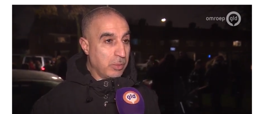 Drama Arnhem-Zuid: 'Mama mama er staat een man onder het bloed'   VIDEO