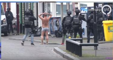 BEELDEN 'Terrorist' gijzeling Klarendal was bekend bij de wijkagent