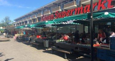Winkelwagen verplicht om supermarkt in te gaan