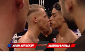 VIDEO Mohammed Boutasaa sloopt Kevin Henneken al in eerste ronde
