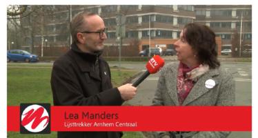 'Fractieleden Arnhem Centraal genoten van goede sfeer tijdens Turkse Festival'