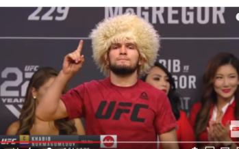 VIDEO McGregor kansloos tegen regerend kampioen Khabib Nurmagomedov