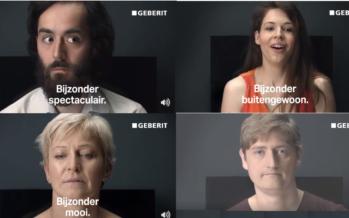 Nederlands bedrijf introduceert bijzonder spectaculaire kontwas wc