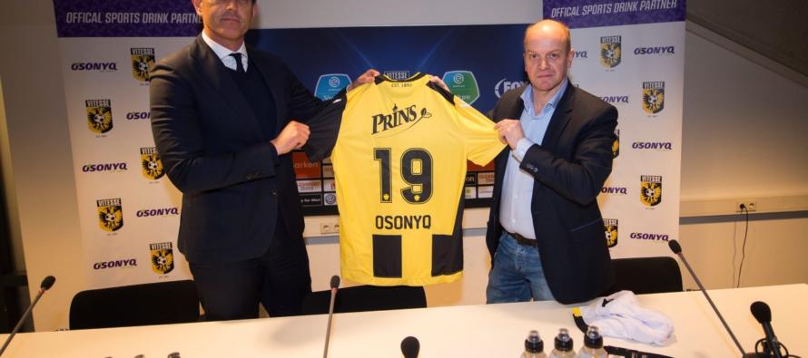 Vitesse en onbekende sportdrankproducent akkoord met nieuwe sponsoring