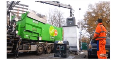 Ondergrondse vuilcontainers kunnen straks niet meer open zonder afvalpas