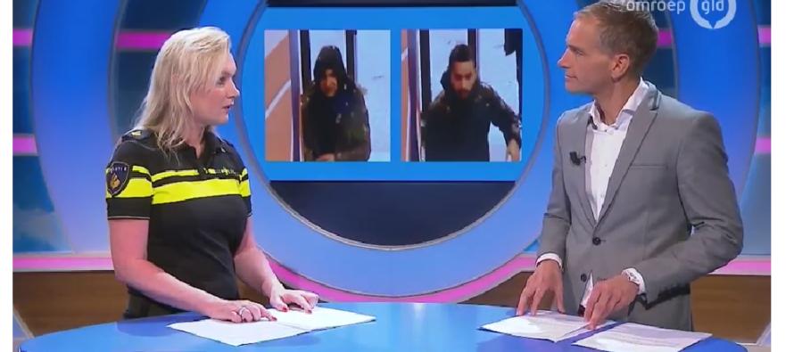 VIDEO Man op slinkse wijze bestolen bij Rabo Bank in Arnhem