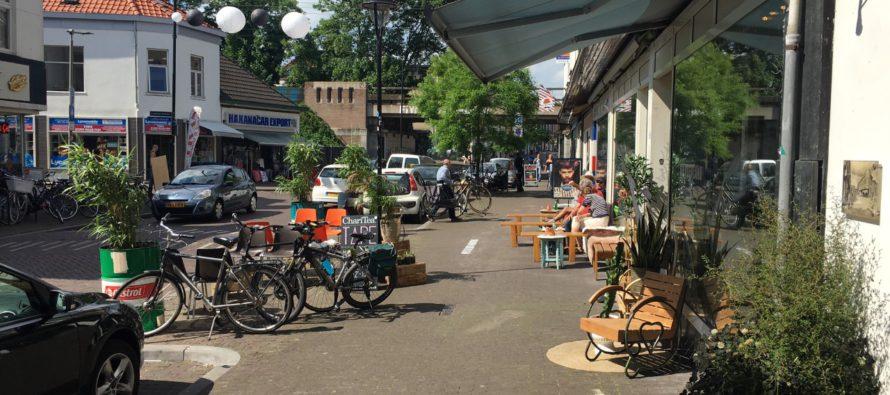 Veel klachten ondernemers Hommelstraat over 'terras' espressobar Tape