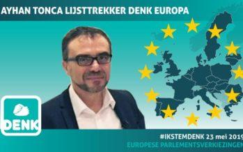 Ayhan Tonca lijsttrekker DENK in Europa