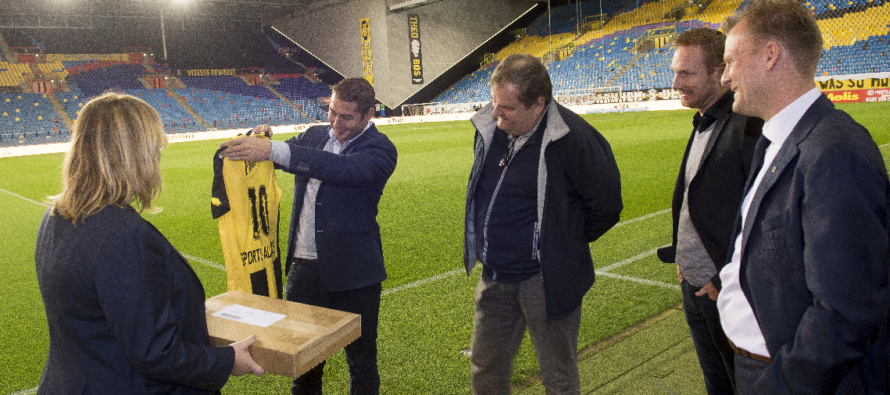 Vitesse en Sports Alliance verlengen samenwerking