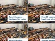 Dankzij Arnhemse inleveractie zijn er minder gevaarlijke wapens in huis