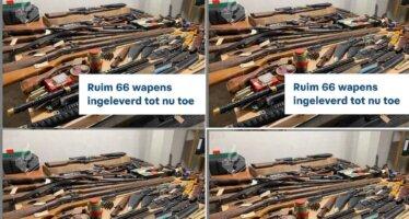 Wijkagent Yilmaz: Ruim 66 wapens ingeleverd tot nu toe